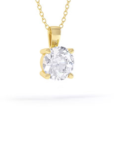Timeless 18ct gold pendant